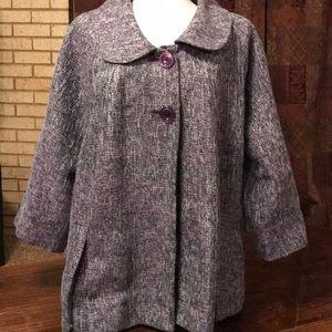 Vintage style swing coat by Avenue